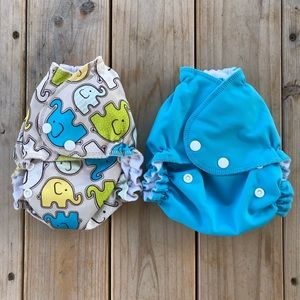 AMP One Size Duo Pocket Diaper Lot